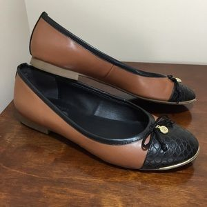 Circus by Sam Edelman brown & black flats size 7